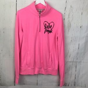 Victoria's Secret PINK Quarter Zip Pullover